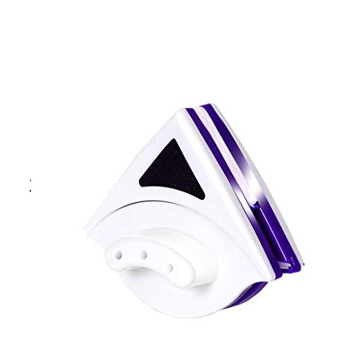 XJJZS Doble Cara magnético Ventana de Limpiador de Cristal Herramientas Cepillo de Limpieza Limpiador de Cristal de Limpieza del hogar con una Cuerda Anti-caída de Alta