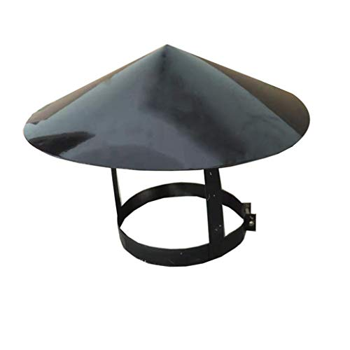Purchase LXLTL Chimney Cowl Stainless Steel, Ending Roof Cowl for Ducting Ventilation Cap Rain Hat H...
