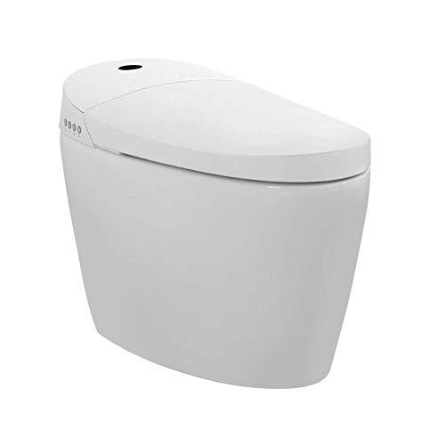 ZJZ Intelligente Toilette Einteilige Bidetkeramik Automatische Spülung Selbstreinigende Düse Radarinduktion Automatische Klappsitzheizung