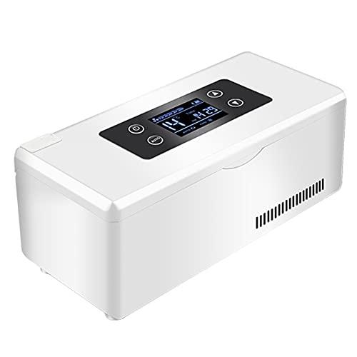 BLLXMX Scatola Refrigerata per Refrigeratore Portatile per Insulina, Mini Scatole Fredde per Farmaci A Temperatura Costante per Farmaci, Custodia per Frigorifero Piccolo Frigorifero