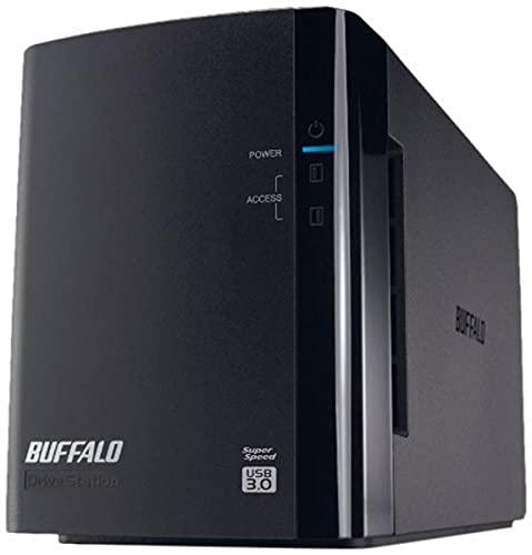 Buffalo HD-WL6TU3R1-EU 6TB (2 x 3TB) DriveStation 2 Bay USB 3.0 Hard Driv