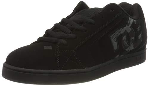 DC Shoes Net, Scarpa da Skate Uomo, Black/Stencil, 42 EU