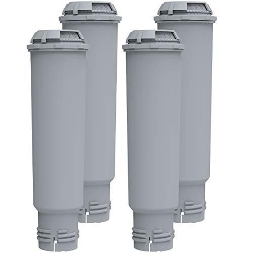 4 zapasowe filtry do wody Krups F088 Claris Melitta Pro Aqua – wkład filtrujący/wkład filtrujący kompatybilny z Siemens Bosch, Nivona, Gaggenau, AEG, Neff – IT