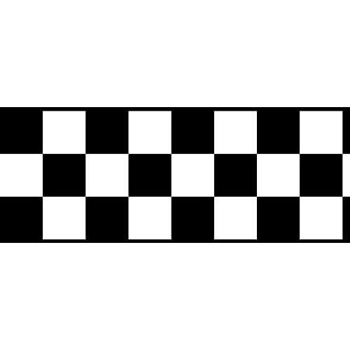 Black Checkered Border Amazon Com