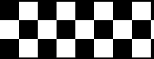 Checkered Flag Cars Nascar Wallpaper Border-4.5 Inch (Black Edge) by CheckeredWallpaperBorder.com