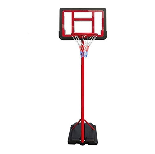 MGIZLJJ Canasta Baloncesto Baloncesto Hoop Soporte Ajustable Altura Mini Baloncesto Interior Juguete for Bebé Niños Niños Niñas Play Outdoor Play Deporte