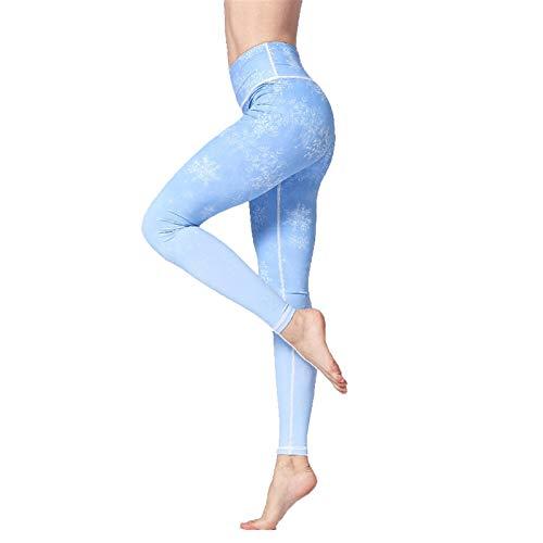 TXXT Pantalones de Yoga Leggings Sport Women Fitness, Push Up Sportswear Pantalones de Yoga Pantalones de Cintura Alta Impresión Elástica Gimnasio Ropa Entrenamiento Pantalón Pantalones Polainas