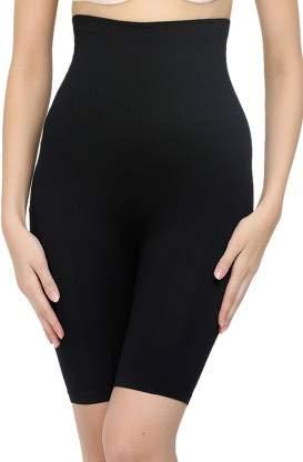 Dilency Sales Women's Tummy Control 4-in-1 Shapewear (Fits from 34 to 38 Waist Size) Black
