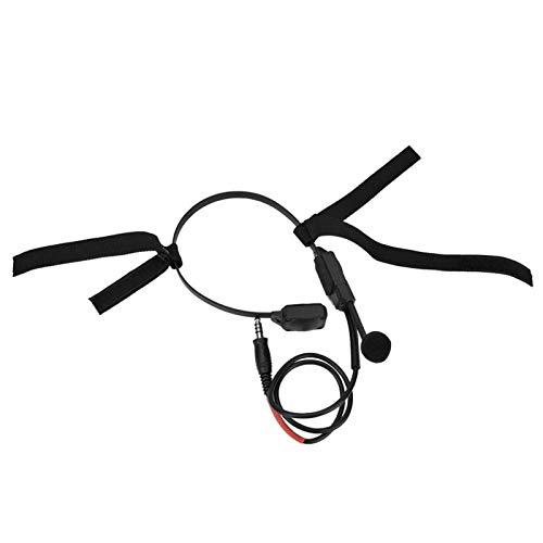 SALUTUYA Militärsignal-Headset Mikrofon-Headset Leicht zu tragen, für PTT der ZTAC-Serie 5,1 x 5,1 Zoll
