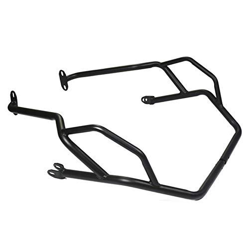 Motorrad Sturzbügel Motorrad-Schutz-Oberteil Motorschutz Sturzbügel Rahmenschutz Stoßdämpfer for Benelli TRK502 TRK520X Jinpeng TRK 502 502X (Color : Black)