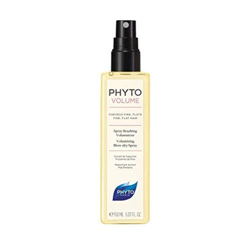 Phyto Phytovolume Spray Brushing Volumizzante Termoprotettore per Capelli Sottili e Senza Volume, Formato da 150 ml