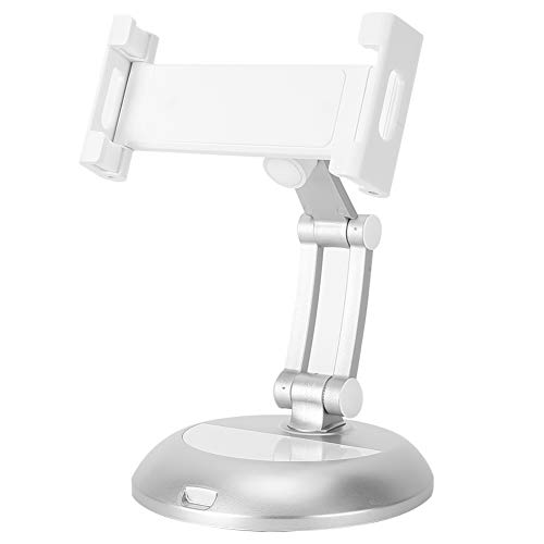 T osuny Soporte de Escritorio portátil de 360 Grados, Soporte Plegable de aleación de Aluminio, para teléfono móvil y Tableta, hogar, Oficina, cafetería y Exterior