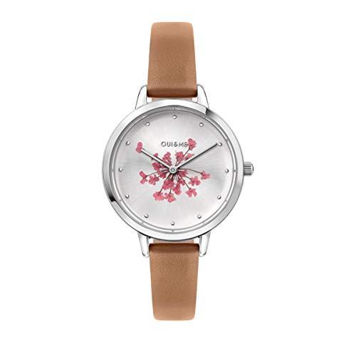 Oui & Me Reloj Analógico para Mujer de Cuarzo con Correa en Cuero ME010248