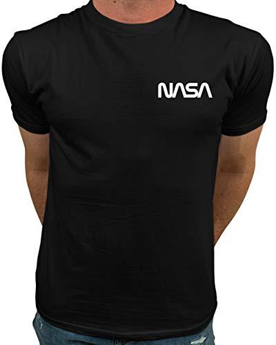 Market Trendz Official Logo NASA I Mini Pocket Logo NASA T Shirts for Men...