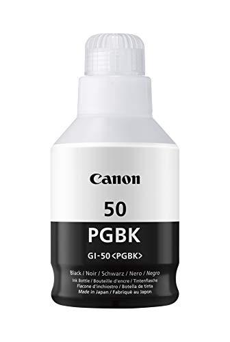 Canon Tintenpatrone GI 50 PGBK schwarz 170 ml Original fur Tintenstrahldrucker