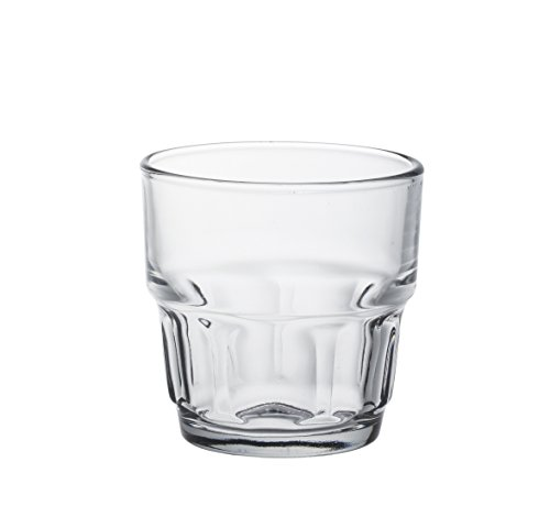 Duralex 1019AB06Lola–Juego de 6Vasos de Cristal (7cm), Transparente