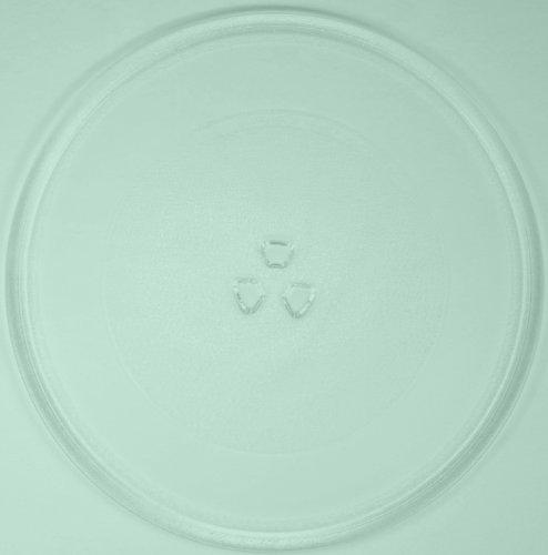 Mikrowellenteller / Drehteller / Glasteller für Mikrowelle # ersetzt Wercom Mikrowellenteller # Durchmesser Ø 32,4 cm / 324 mm # Ersatzteller # Ersatzteil für die Mikrowelle # Ersatz-Drehteller # OHNE Drehring # OHNE Drehkreuz # OHNE Mitnehmer
