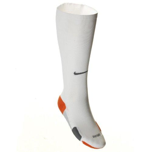 Nike Cushion Compresión Calcetines para correr hasta la rodilla / SX3896-149 - blanco, 42-46