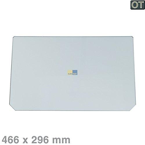 Genuine ARISTON Kühlschrank Crisper Abdeckplatte 466 x 292 x 4 mm C00280888 C00087321