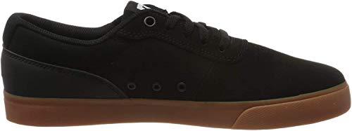 DC Shoes Switch, Zapatillas de Skateboard para Hombre, Negro (Black/Gum Bgm), 47 EU