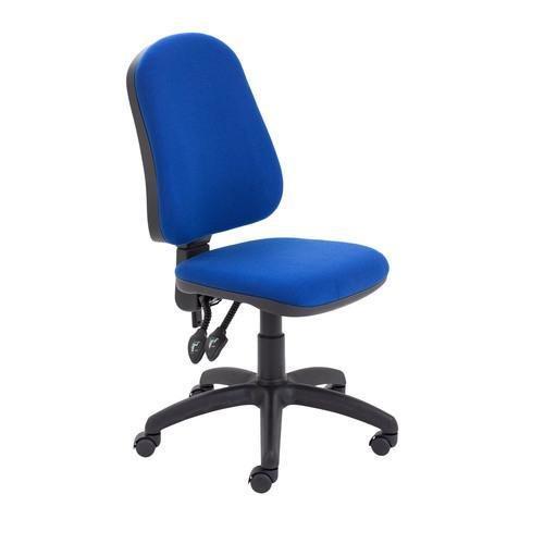 Calypso II High Back - Silla de trabajo, color azul