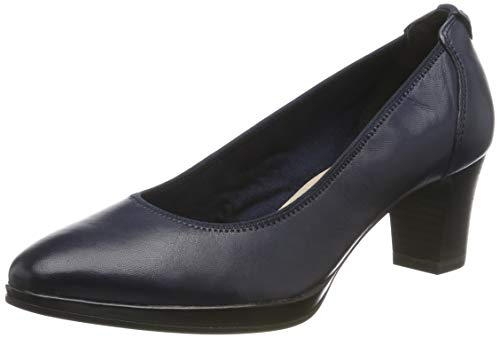 Tamaris Damen 1-1-22446-23 Pumps, Blau (Navy 805), 41 EU