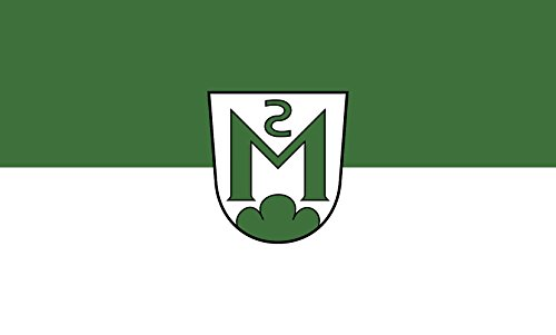 Unbekannt magFlags Tisch-Fahne/Tisch-Flagge: Magstadt 15x25cm inkl. Tisch-Ständer