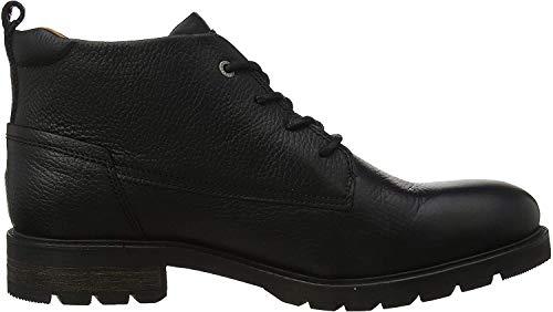 Tommy Hilfiger Herren Winter Shearling Lining Boot Klassische Stiefel, Schwarz (Black 990), 42 EU