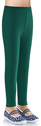 Ladeheid Leggins Pantalones Largos Ropa Deportiva Niña LAMA03 (Verde Oscuro2, 116-122)