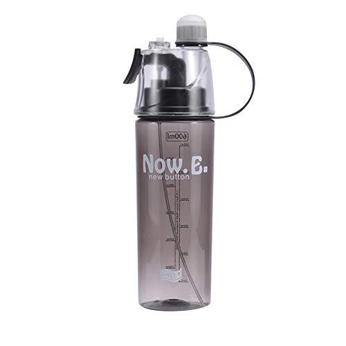 Botella de agua para ciclismo, botella de agua portátil esencial para deportes al aire libre, botella de agua para ciclismo, bicicletas de montaña, 710 ml