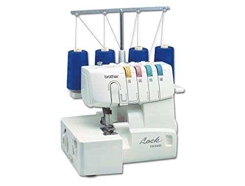 Brother 1034D 3/4 Thread Serger with Differential Feed (Renewed)