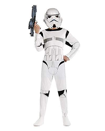 Star Wars ST-888571 - Disfraz de Stromtrooper para adulto, color blanco, talla M
