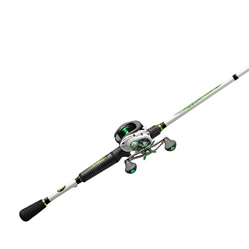LEW'S Fishing Mach 1 Speed Spool SLP Combo, Baitcast Combo, Baitcasting Reel, Fishing Reel and Fishing Rod, Fishing Gear and Equipment, Fishing Accessories (MH1SHA72MH)