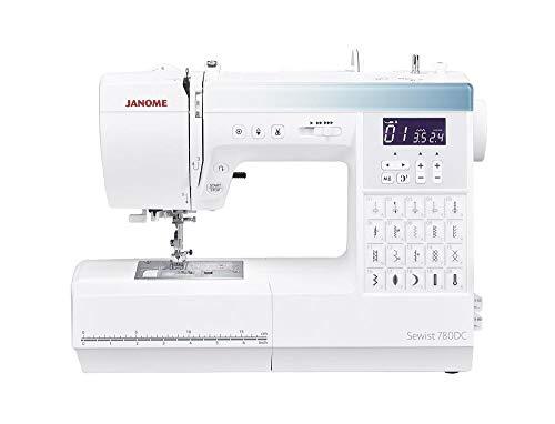 Janome 780DC máquina de coser computarizada. Ahorra 50 € Máquinas de coser