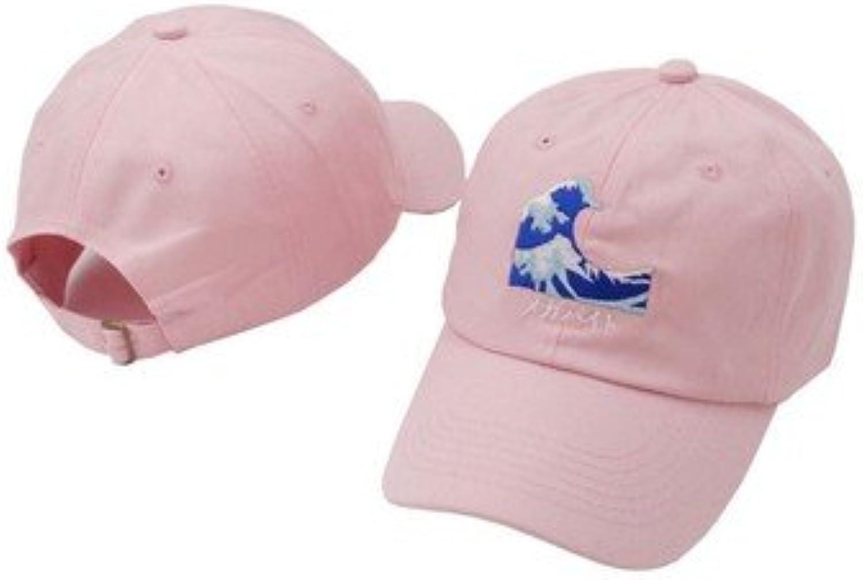 07fd283c57 QETUOAD Wave Dad Hat Black Baseball Baseball Baseball Cap for Men Snapback  Hip Hop Embroidered Caps Women Adjustable Unisex Casual Hats 72e3e9