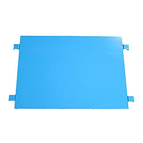 カゴ台車 オプション 棚板 中間棚板 W85×D65×H170(cm)台車用(1枚) (ブルー)