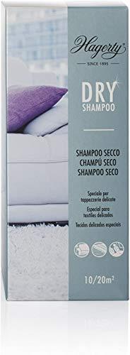 Hagerty Dry Shampoo polvo limpiador alfombras 500g I champú en polvo especial para limpieza en seco de alfombras moquetas o tapicerías de tejidos delicados I Quitamanchas limpiador en seco tapiceria