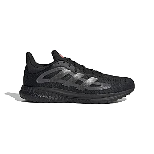 adidas Solar Glide 4 M, Zapatillas de Running Hombre, NEGBÁS/NOCMÉT/Gricin, 44 EU
