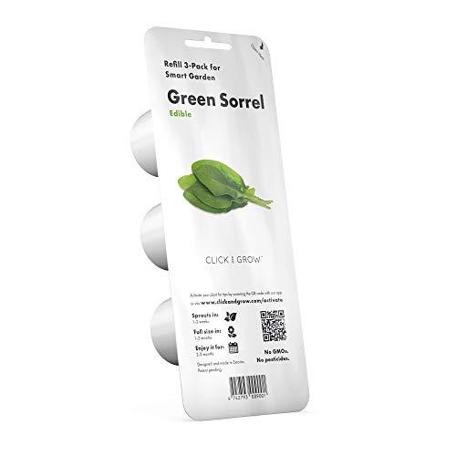 Click & Grow navulling Groene Zuring Refill 3-Pack