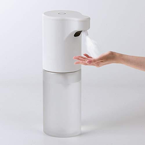 Dispensador De Jabón Automático 220 ML, Dispensador De Lavado De Manos Sin Contacto por Infrarroja, ABS+Pet Material, para Cocina/Baño/Oficina/Inodoro,Disinfection