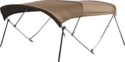 Read About CONVERTEX Sunbrella Bimini Top Boat Cover 7/8 Inch Aluminum Frame 4 Bows, 8' Length, 54''...