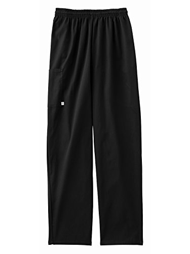 Five Star 18100 Unisex Pull On Pant Black L