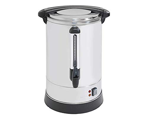 PartyHut 135-Cup 20 Liter XL Coffee Maker Brewing Broiler | Extra Large Commercial Size Coffee Urn | Events, Fundraisers, Parties, Weddings
