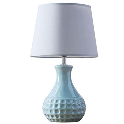 Eenvoudig grijs keramiek in stijl tafellamp kleine mini decoratie kantoor licht slaapkamer woonkamer warme lamp huis schroef E27 fitting lamp lampen lampen