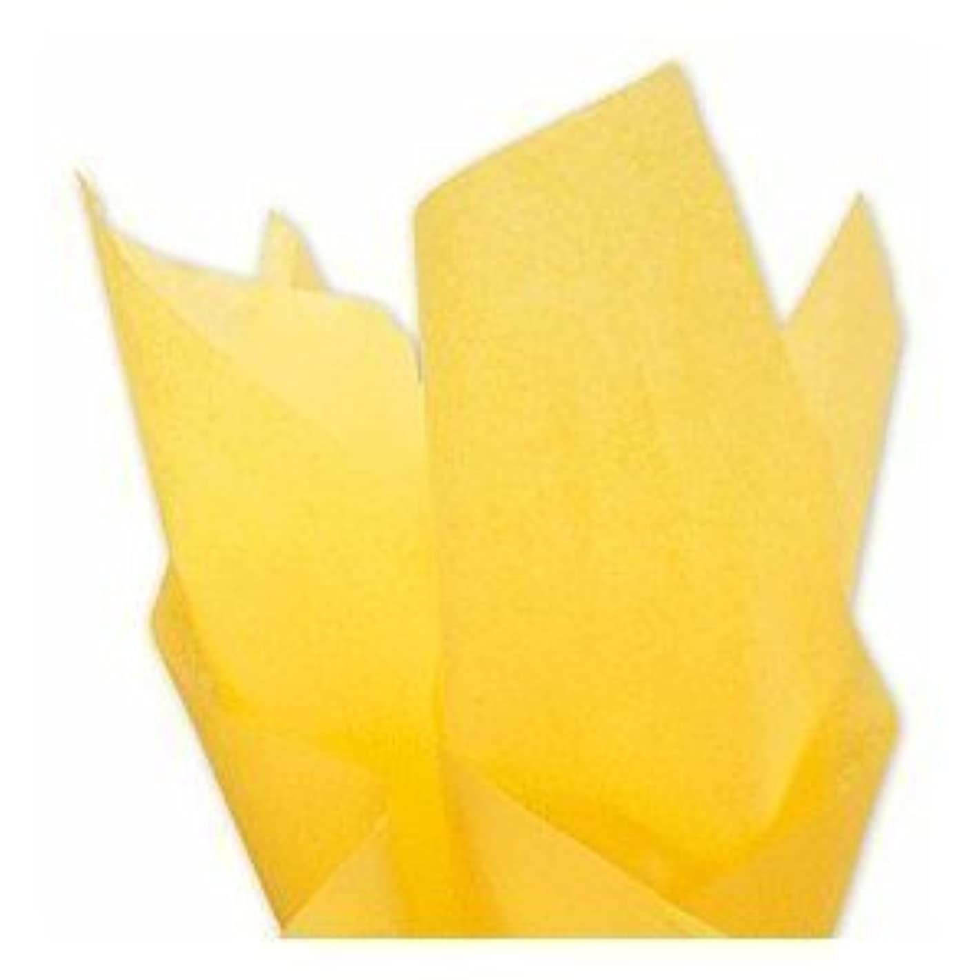 Buttercup Yellow Tissue Paper - 20 inches x 30 inches - 20 sheets