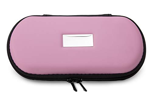 Aufbewahrungs-Etui Ego für E-Zigaretten und E-Shishas ideal als Tasche Hülle Bag Case zum Schutz oder für Liquids und Zubehör Rosa