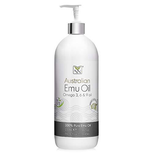 100% Pure Australian Emu Oil (1000ml)