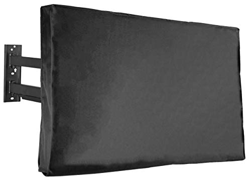 VIVO Flat Screen TV Cover Protector for 60 to 65 inch Screens, Universal, Outdoor, Weatherproof, Water Resistant, COVER-TV060B