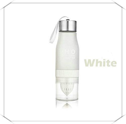 650ml Infuser Water Bottle Plastic Fruit Infusion Kids Drink Outdoor Sports Bottle Juice Lemon Portable Kettle - Yellow,0.65L