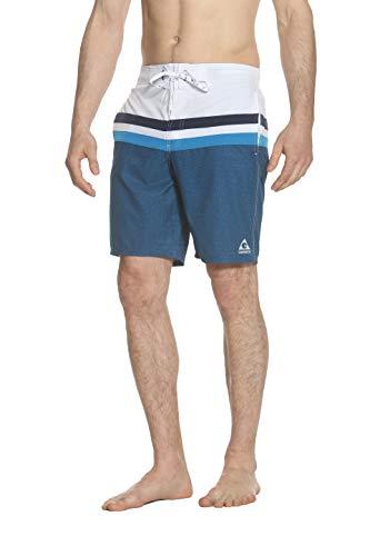 Gerry Ace Stretch Mens Board Short Swim Trunk Swimwear (Scuba X-Dye, Large)
